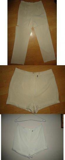 Stare spodnie = spodenki