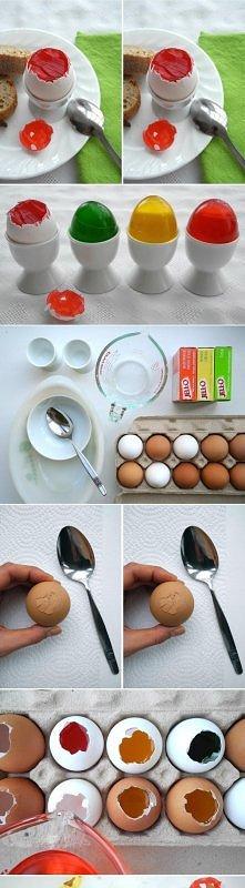 diy, diy projects, diy craft, handmade, diy ideas, diy jello gelatin eggs