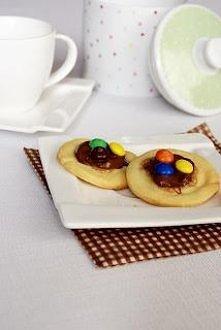 Ciasteczka z M&M's...