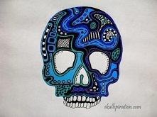 skull by Anna from Skullspiration