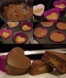 Roztopiona czekolada, do śr...