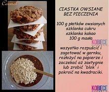 Ciasteczka OWSIANE bez piec...