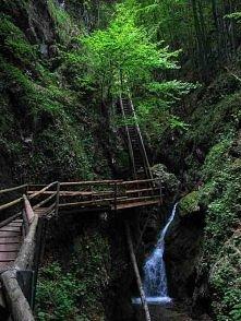 Waterfall Stairs, China