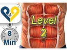 Abs workout how to have six pack - Level 2 // ĆWICZENIA NA BRZUCH // CZĘŚĆ 2