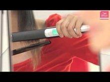 Jak prostować włosy.
