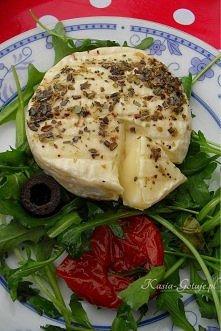 Grillowany camembert