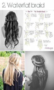 DIY : Hairstyle . ja bym chętnie ponosiła :D