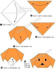 how to, how to fold, origami instructions, paper folding, step by step, tutor...