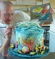 Dolphin Cake!