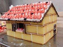 House made out of cake!