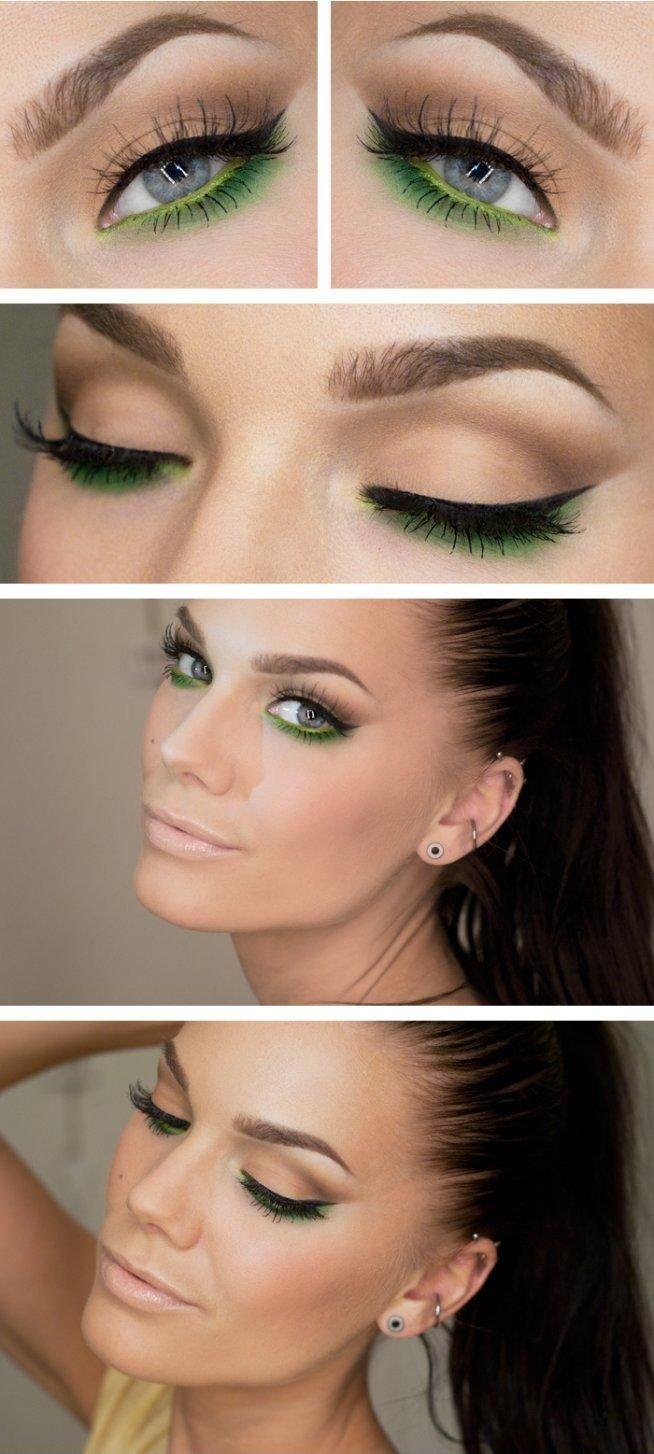 Makijaż Make Up Zielone Oczy Na Makijaż Zszywkapl