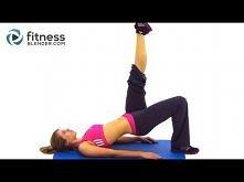 """Fitness Blender Butt & Thigh Workout - 20 Minute Bodyweight Workout - JEDEN Z LEPSZYCH NA """"SZYBIE"""" efekty, skuteczniejszy niż A6W"""