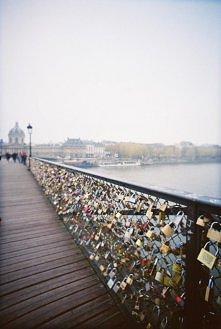 Lover's Lock Bridge in...