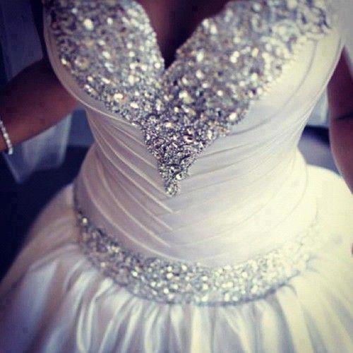 Gorset Sukni ślubnej Wysadzany Kamieniami Na Wedding Dresses