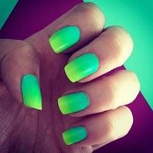 zielone ombre