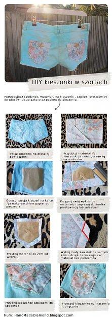 ✄ - - ♥ Spodneki DIY tutorial jak zrobić? ♥