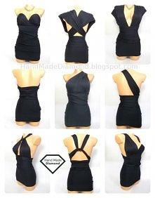 ✔ Super seksowna sukienka kameleon ponad 30 kobinazji wiosna 2013 stylizacja ...