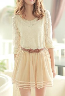 koronkowa suknia lato 2013