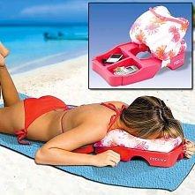 Specjalna poduszka na plaże ;)
