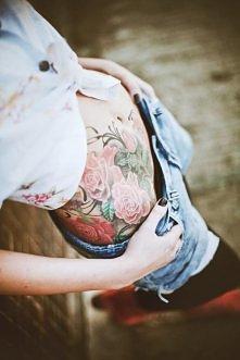 róże !! tatuaż prześliczny ...