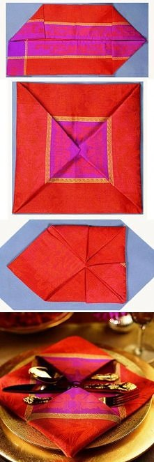 diy, diy projects, diy craft, handmade, diy ideas, diy pendant napkin fold