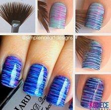 Pomysłowo pomalowane paznokcie