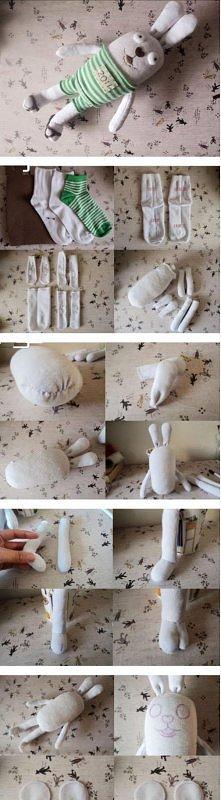 diy, diy projects, diy craft, handmade, diy ideas, diy custom bunny plush