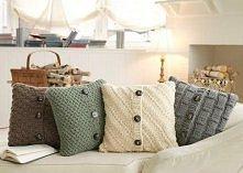 Pomysł na... poszewki na poduszki.