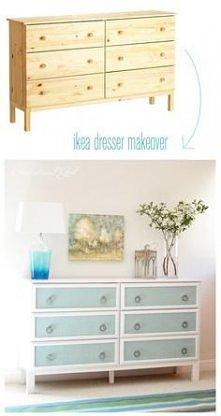 przeróbka komody z Ikea :)