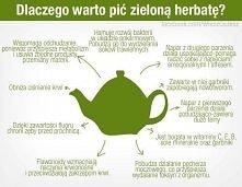 Zielona herbata. Dlaczego w...