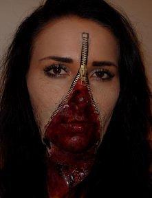 moja stylizacja na halloween ;)