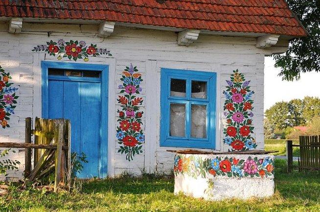 Как раскрасить дом своими руками