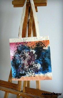 """""""Inspirowany Pollock"""" - jeśli jesteś zainteresowana zakupem torby z..."""