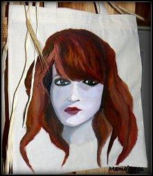 """""""Florence Welch"""" - jeśli jesteś zainteresowana torbą z takim oto na..."""