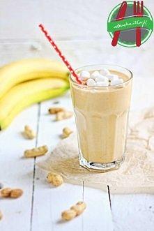 masło orzechowe i banan w płynie - smoothie na dobry początek dnia - przepis po kliknięciu w obrazek