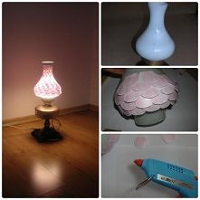 moja pastelowa lampa DIY z ...