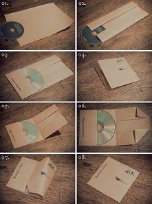 Pakowanie płyty na prezent