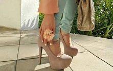 Nude high heels ;)