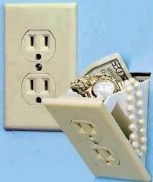 Sprytne skrytka na wartościowe rzeczy!! :)