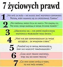 7 życiowych praw ;)
