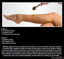 Domowe SPA - depilacja past...