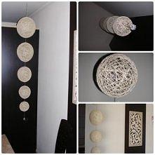kulki dekoracyjne zrobione ...
