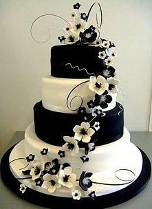 czarno-biały TORT
