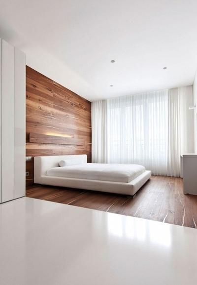 Sypialnia Drewno I Biel