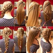 Fajne warkoczowe fryzurki, która podoba wam się najbardziej ?  INSPIRACJA ! &...