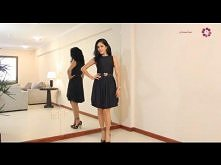 Must have in your closet! How to make a Basic Black Dress DIY