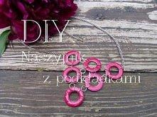 DIY: Naszyjnik z podkładkami