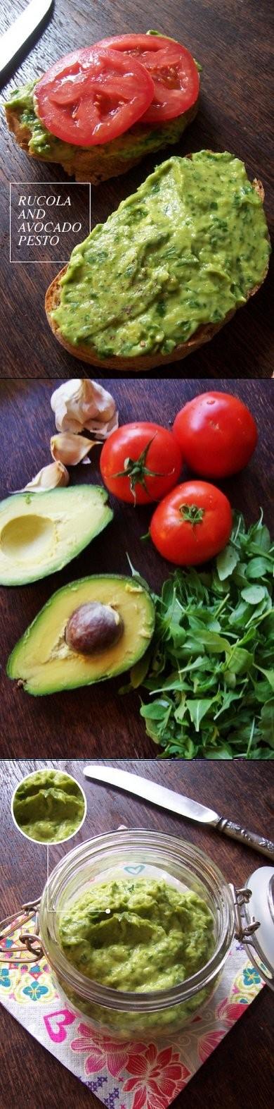 Pasta z avocado