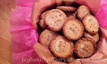 Pyszne i zdrowe razowe ciasteczka z cynamonem - przepis na moim kulinarnym bl...