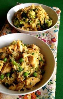 Ryż curry z kurczakiem i zi...